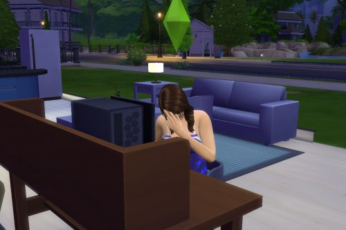 The Sims' freelance writing career reminds me of my loneliest, self-doubting days