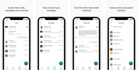 Google Voice redesign rolls out on iOS with new look and new features