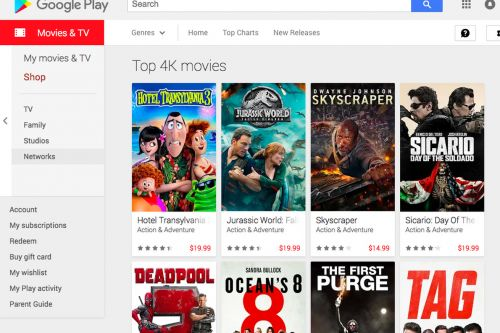 Google Play is making all movie rentals $0.99 for Thanksgiving