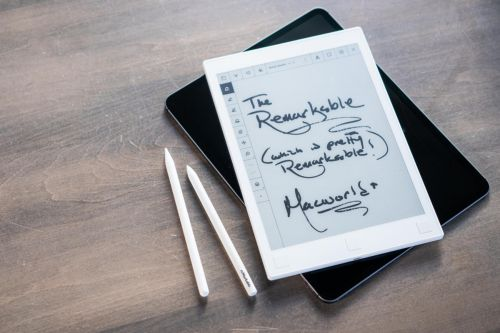 First Look: reMarkable writing test vs. Apple Pencil