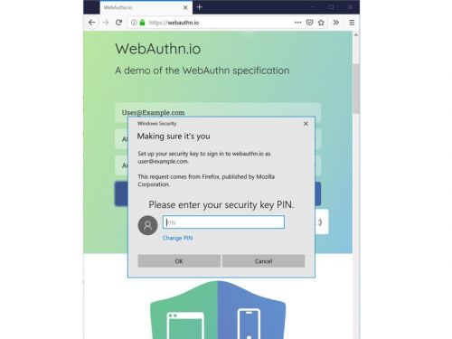 Firefox now works with Windows Hello for web authentication