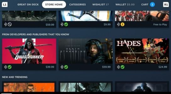 Valve's New Deck Verified Program Will Tell Gamers Which Titles Play Well on Steam Deck