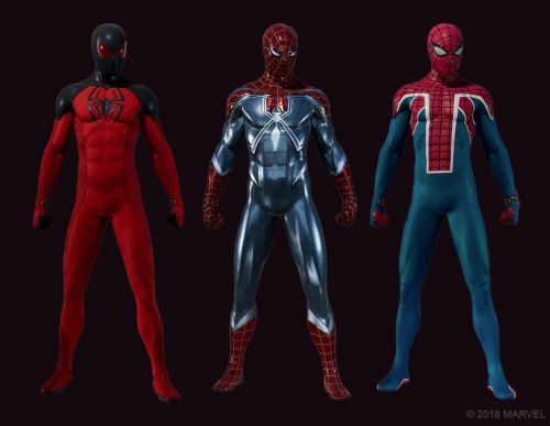 PS4's Spider-Man Shows Off First DLC Suits
