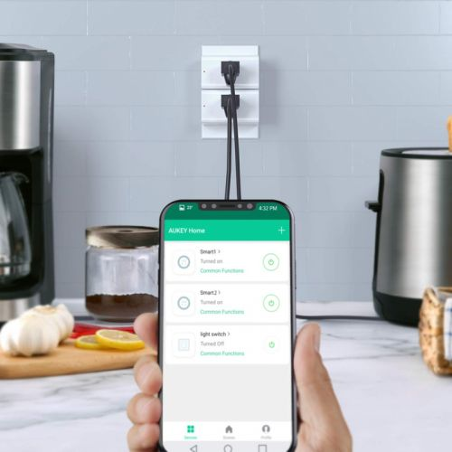 Control appliances with your phone and Aukey's discounted Mini Smart Plugs