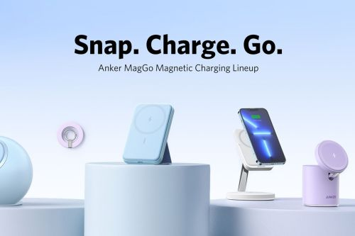 Snap on Anker MagGo accessories for MagSafe wireless charging in your car and home