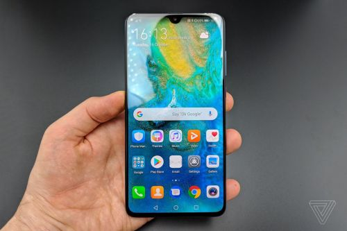 Huawei announces Mate 20 with 6.5-inch display and tiny notch