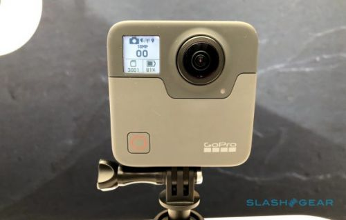 GoPro Fusion camera beta firmware adds 5.8K/24fps capture support