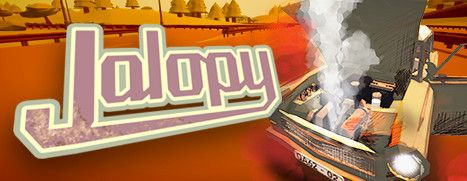 Daily Deal - Jalopy - Road Trip Car Driving Simulator Indie Game , 50% Off
