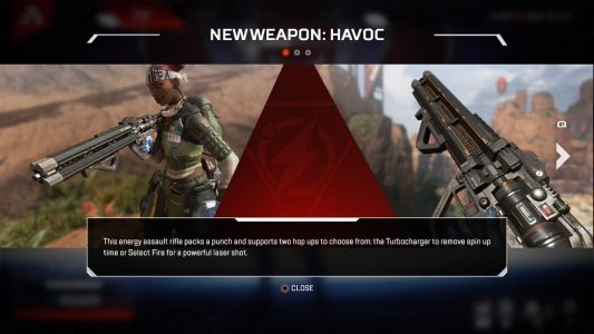 Apex Legends Patch Adds Havoc, Its First New Gun-See It In Action