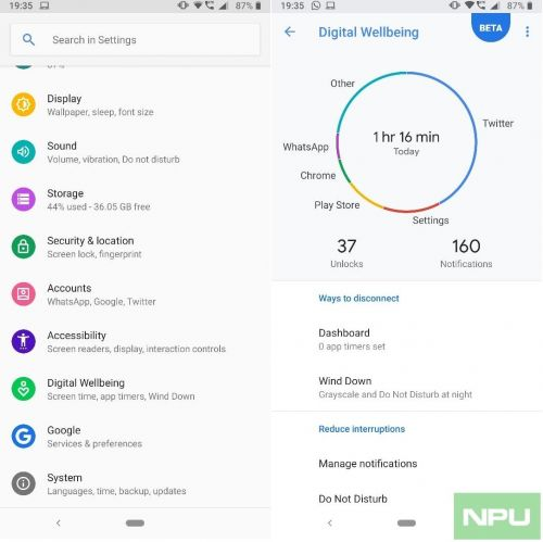All Nokia 7 Plus Android Pie Beta users get Digital Wellbeing via a PlayStore update