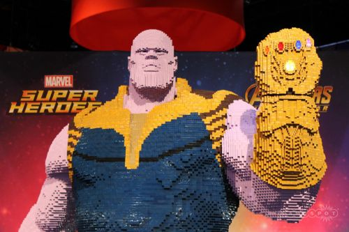 Comic-Con 2018: This Huge Lego Thanos Demands You Bow Before Him