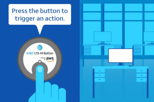 AT&T has launched a programmable LTE button for businesses