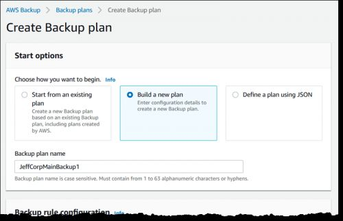AWS launches Backup, a fully-managed backup service for AWS