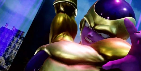 New Jump Force Gameplay Shows Super Saiyan Blue Vegeta And Golden Frieza